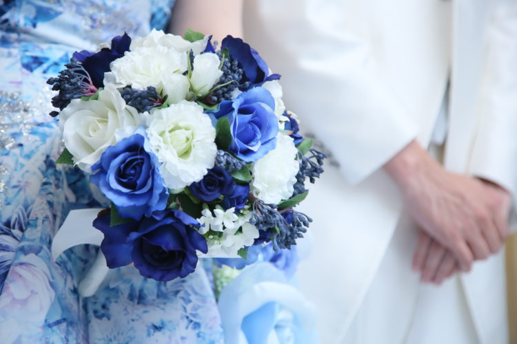 BLUE×WHITE~爽やかな印象に~