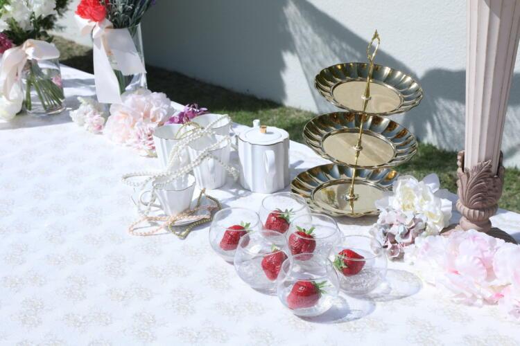 季節に合わせた生花を使ったガーデン装飾~spring~